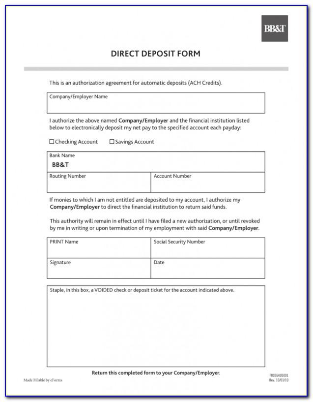 Ach Vendor Payment System Form