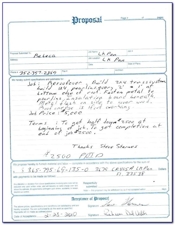 Aia Invoice Form Free