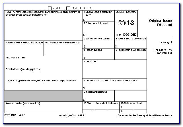 Blank 1099 Form 2011