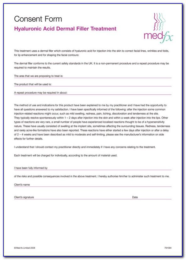 Botox Consent Form Doc