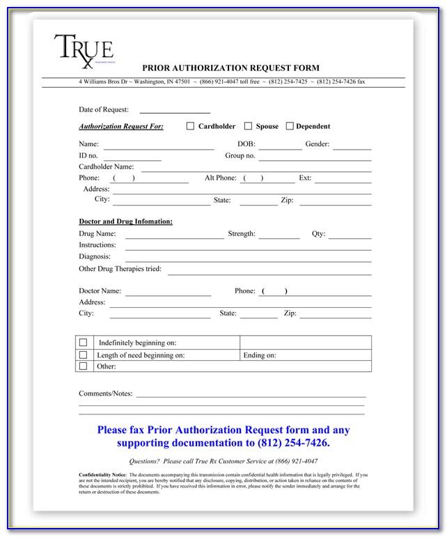 Cigna Medicare Part B Prior Authorization Form