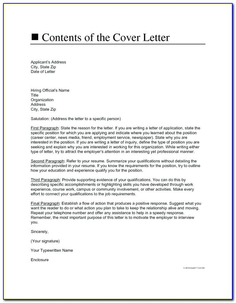 Cover Letter And Resume Builder Free
