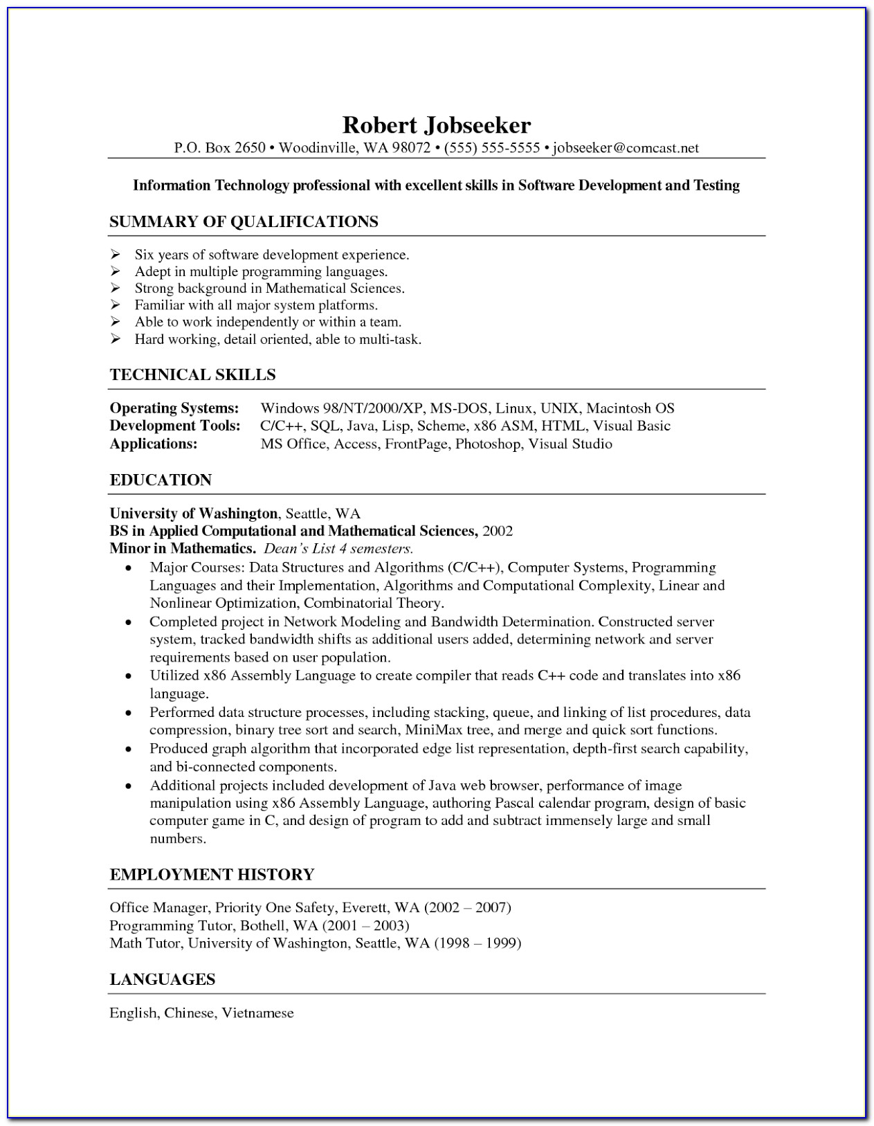 Cover Letter For Medical Billing And Coding Student