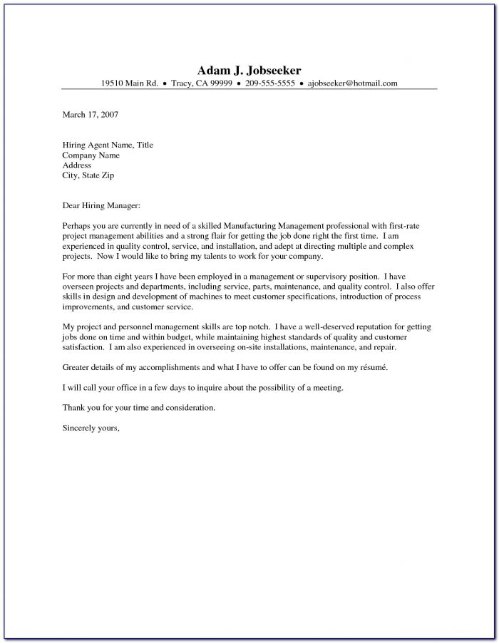 Cover Letter Free Samples Administrative Assistant