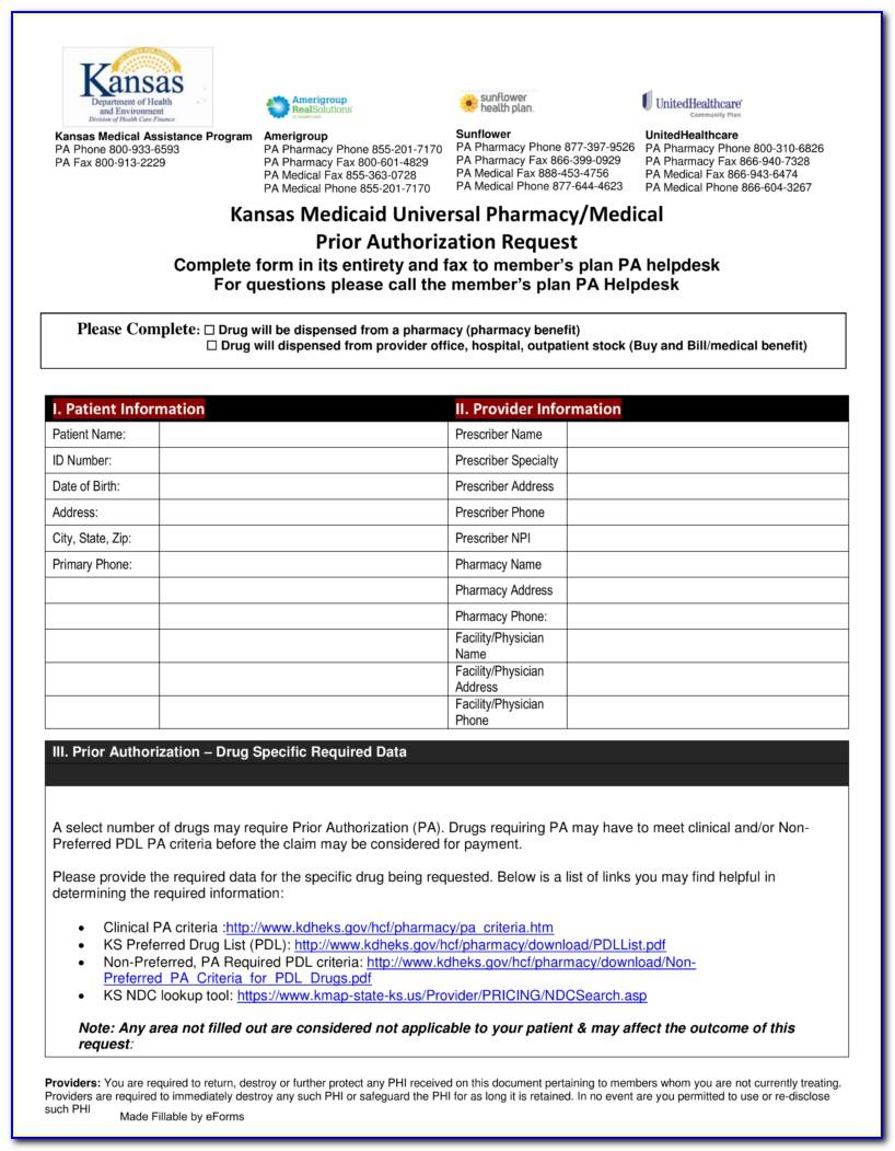 Covermymeds Humana Prior Authorization Form