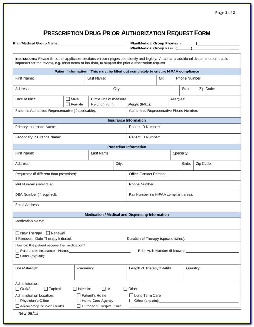 Covermymeds Prior Authorization Form