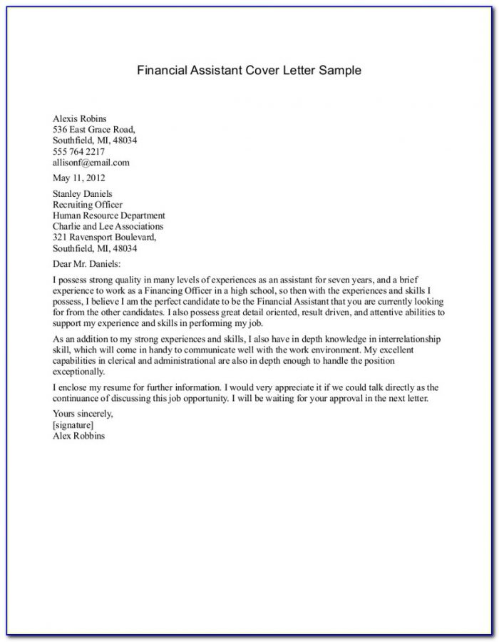 Creating A Resume And Cover Letter