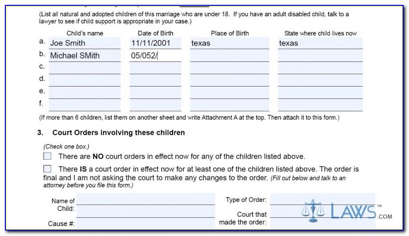 Dallas County Divorce Filing Records