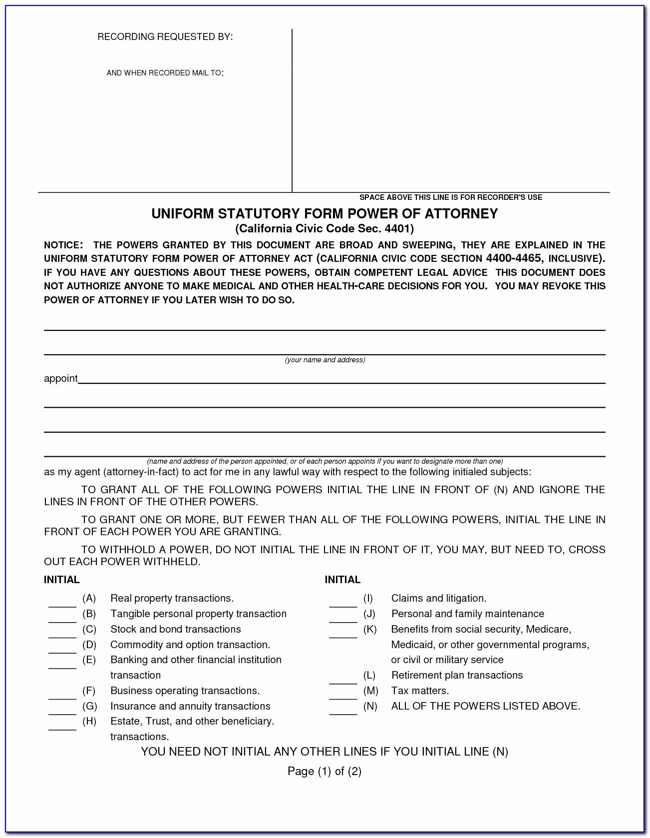Durable Power Of Attorney Form Missouri Luxury Medical Power Attorney Form Oregon Beautiful Florida Health Care