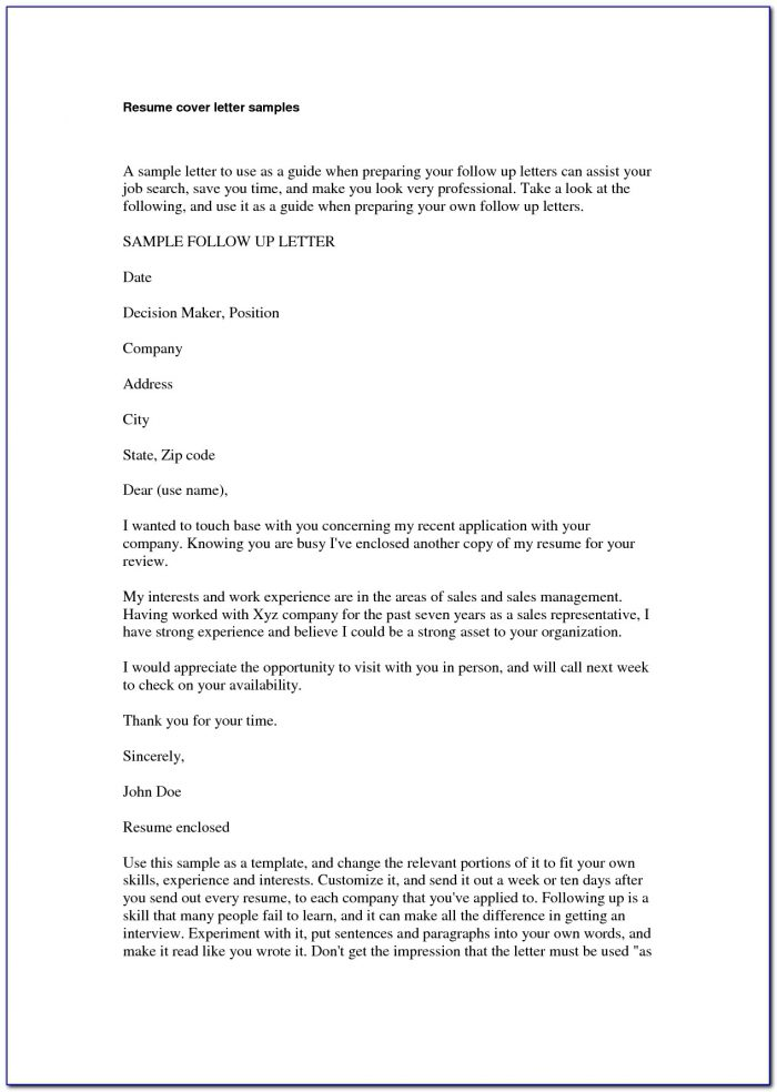 Examples Of Teacher Resumes And Cover Letters