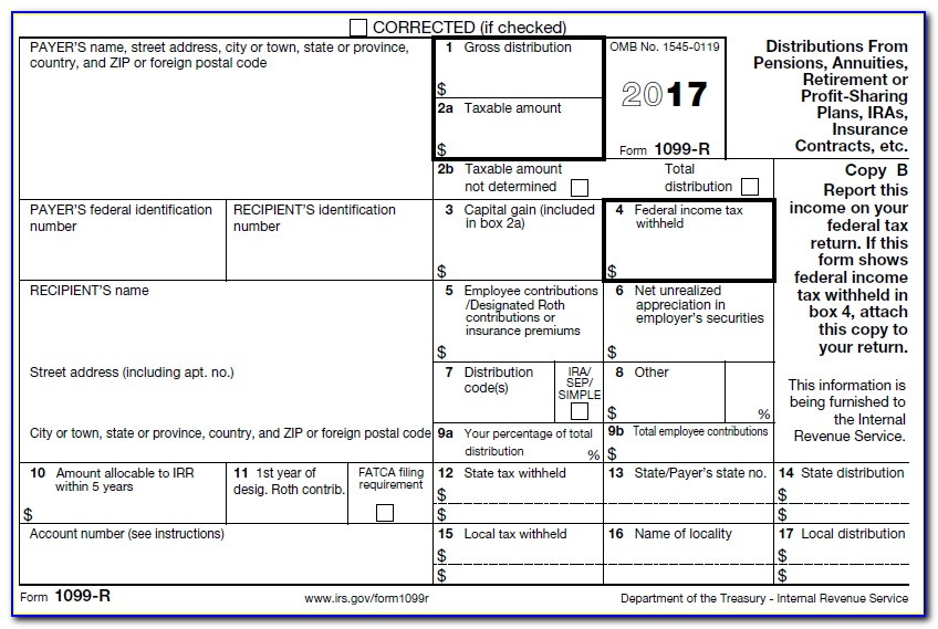 Free Downloadable 1099 Misc Form