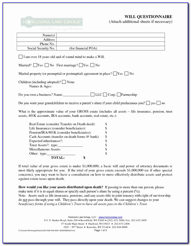 Free Postnuptial Agreement Form