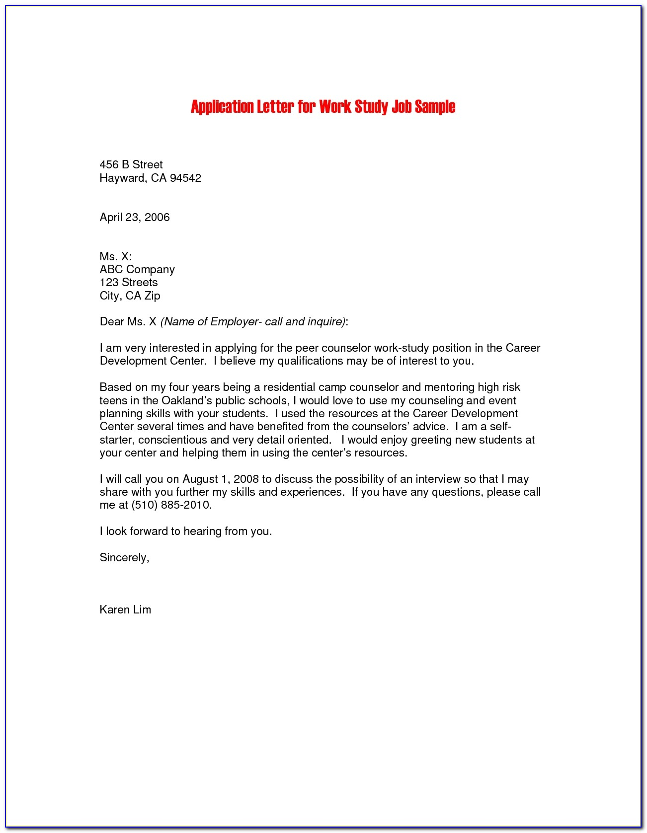 Sample Covering Letter For Job Application Email The Best Cover Letter For Job Application Pdf
