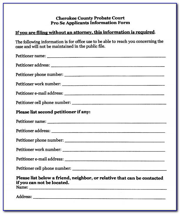 Free Temporary Guardianship Form Idaho