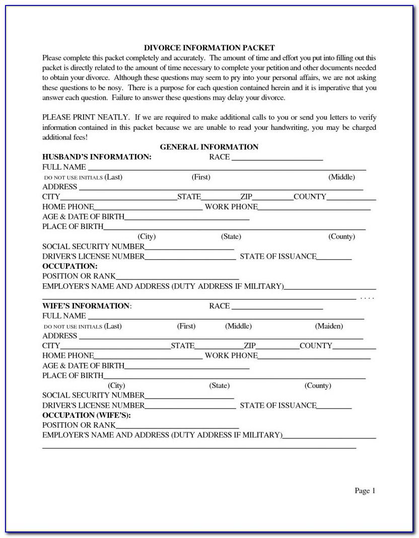 Harris County Divorce Filing Records