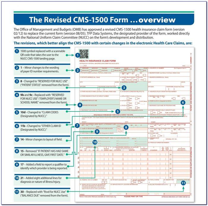 Hcfa 1500 Claim Form Tricare