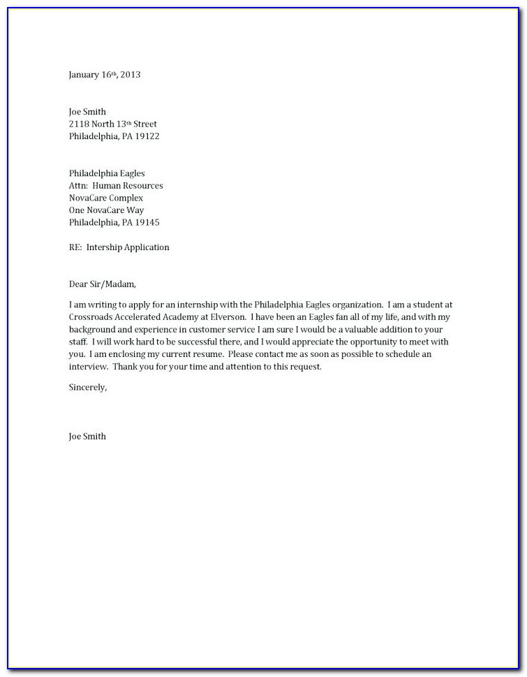 How Do You Create A Cover Letter For A Resume