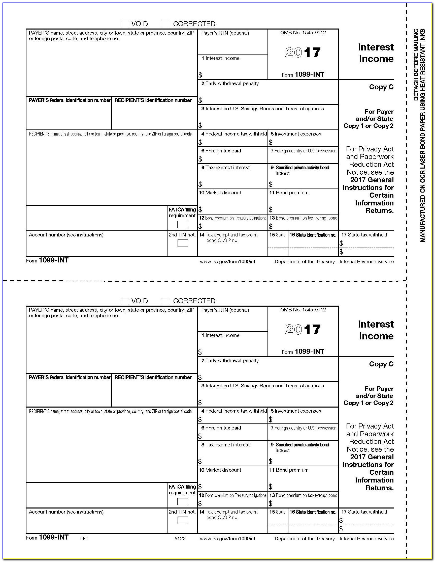 Irs Forms 1099 C