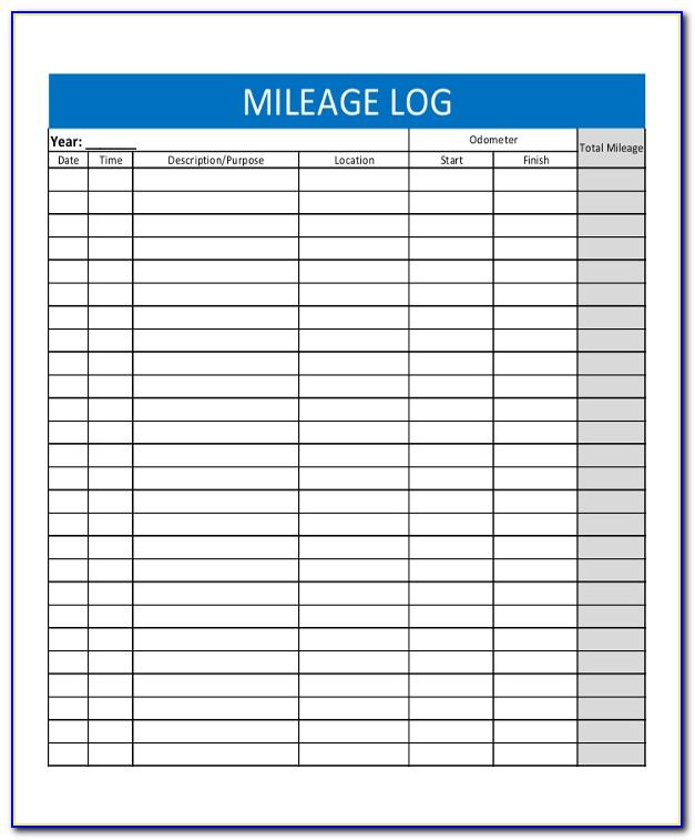 Irs Mileage Allowance >> Mileage Tracker Form Pdf Form Resume Examples P0eko3gkmz
