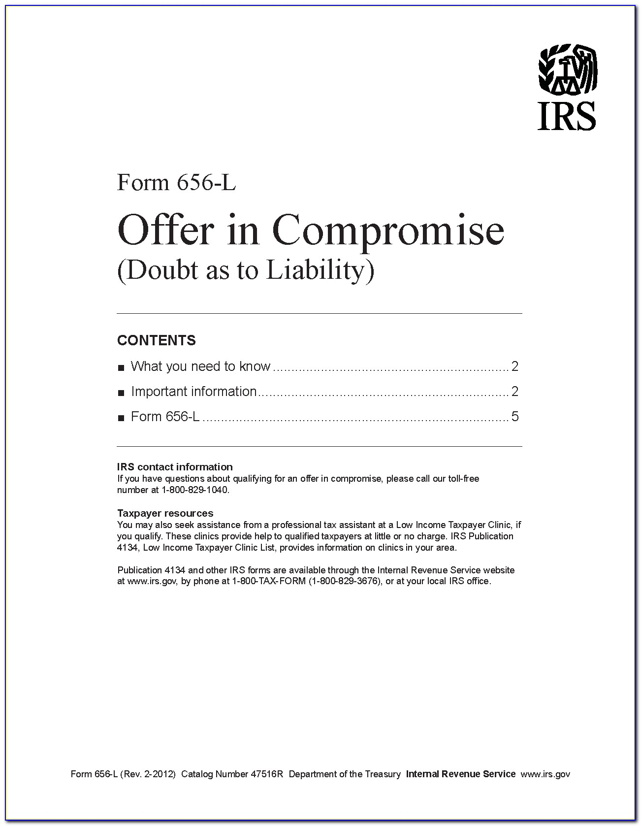 Irs Oic Payment Form