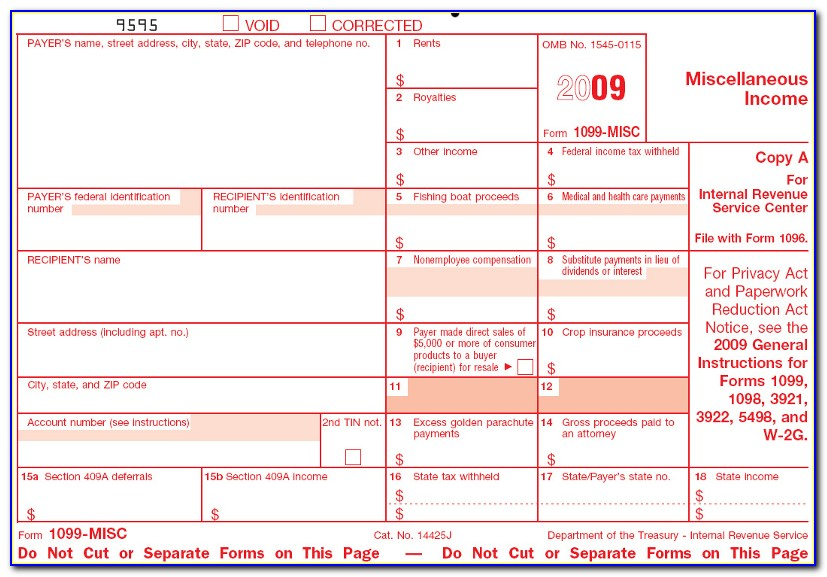Irs.gov Forms 1099 Misc 2017