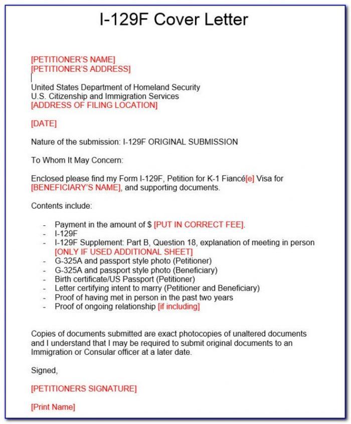 K1 Visa Process Forms