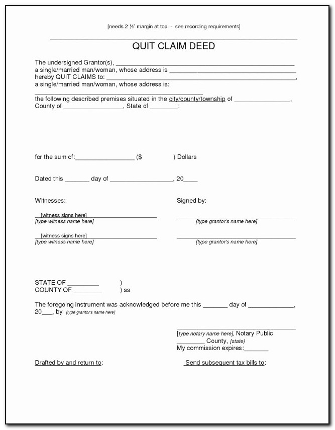 California Quit Claim Deed Form Awesome How Fill Out A Quit Claim Deed Marvelous California Quitclaim