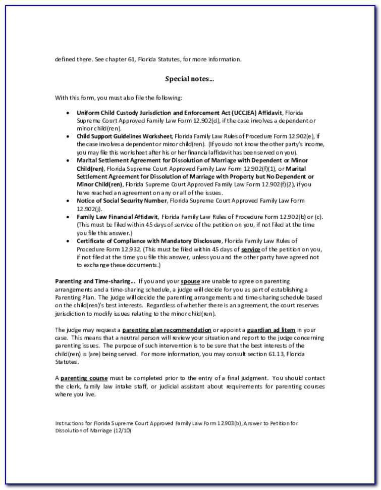 Lake County Ohio Dissolution Of Marriage Forms