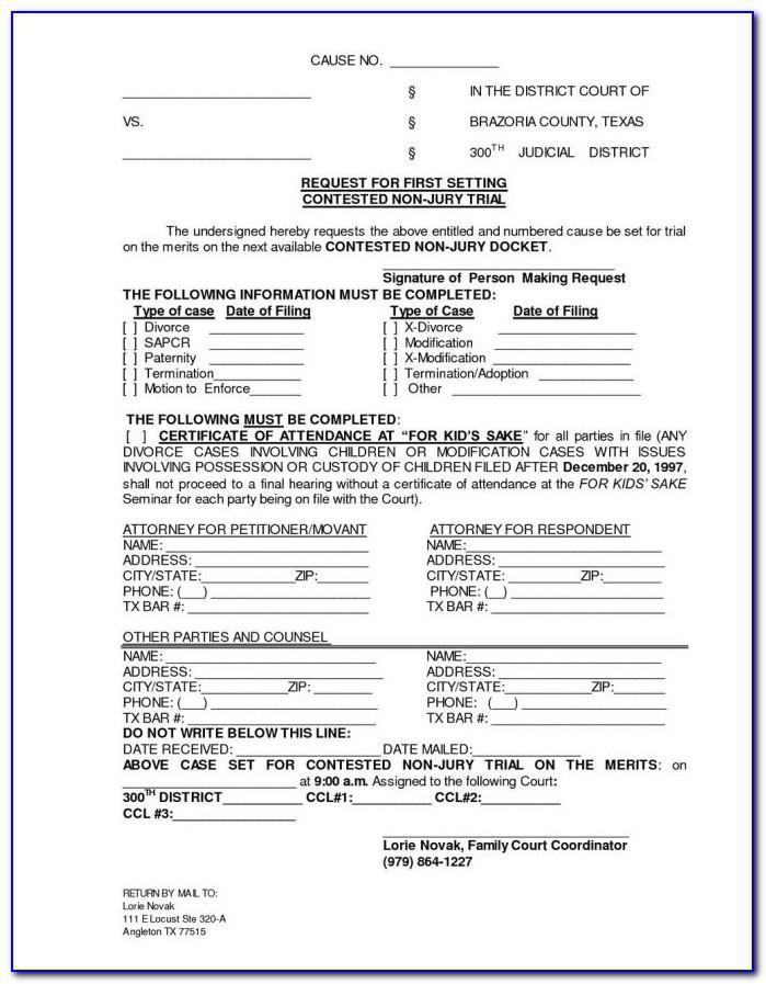 Louisiana Divorce Forms Pdf