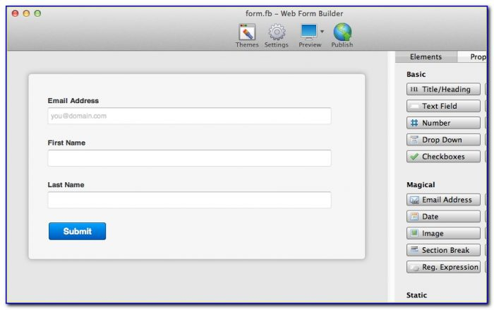 Mailchimp Popup Form Builder