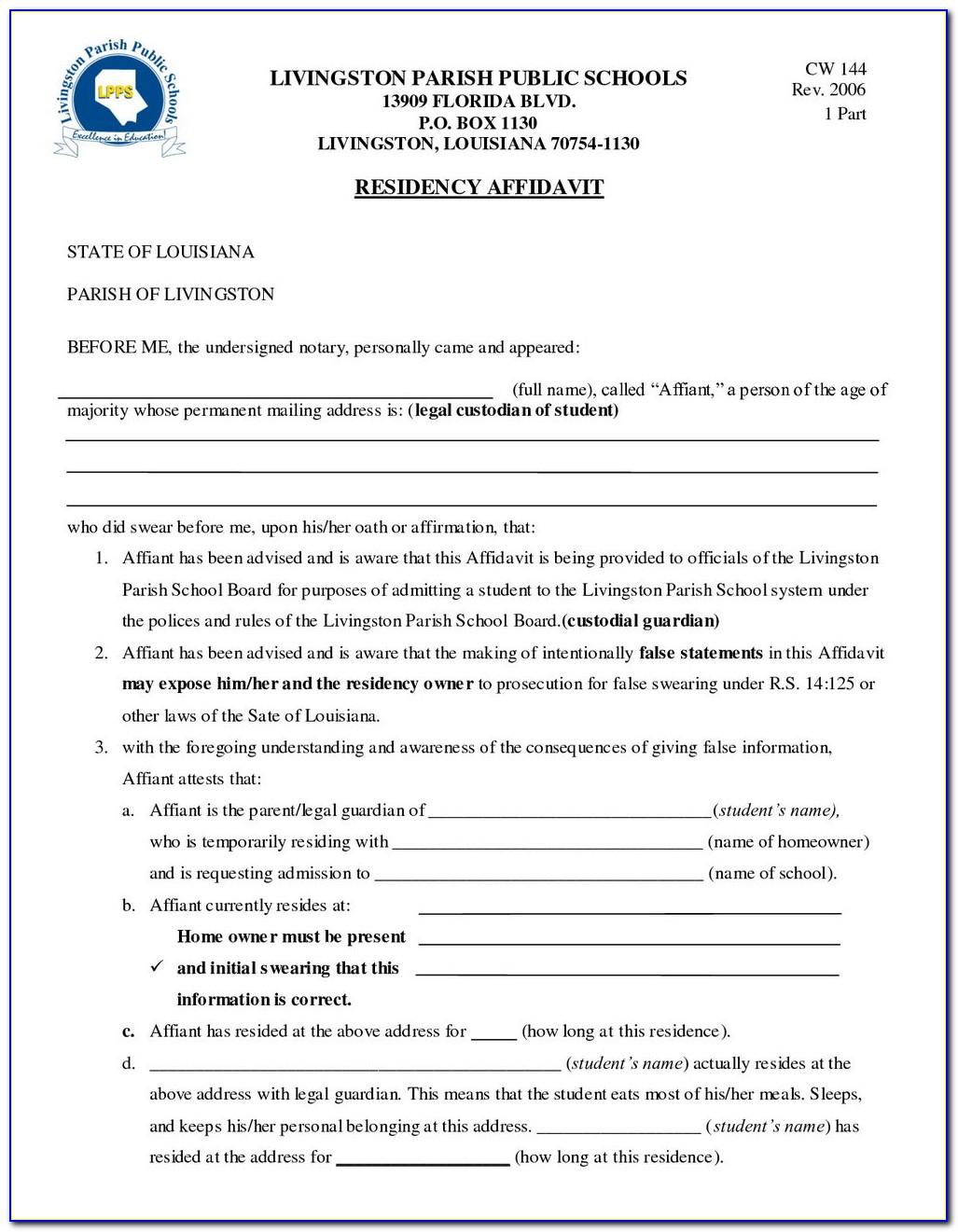 Missouri Guardianship Petition