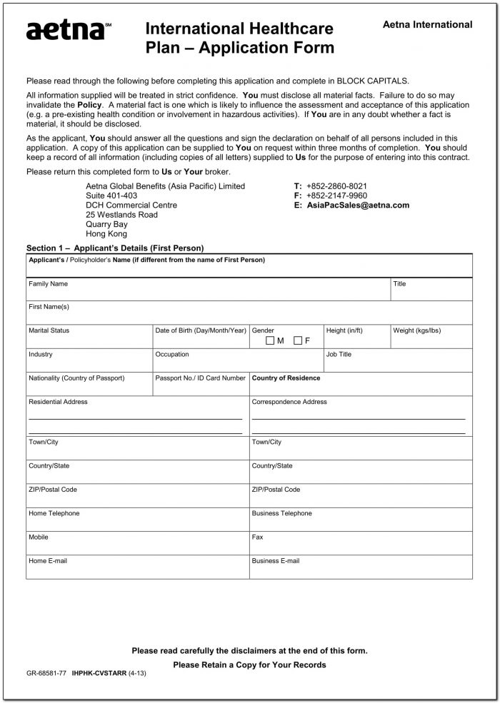 Mnsure Paper Application Form