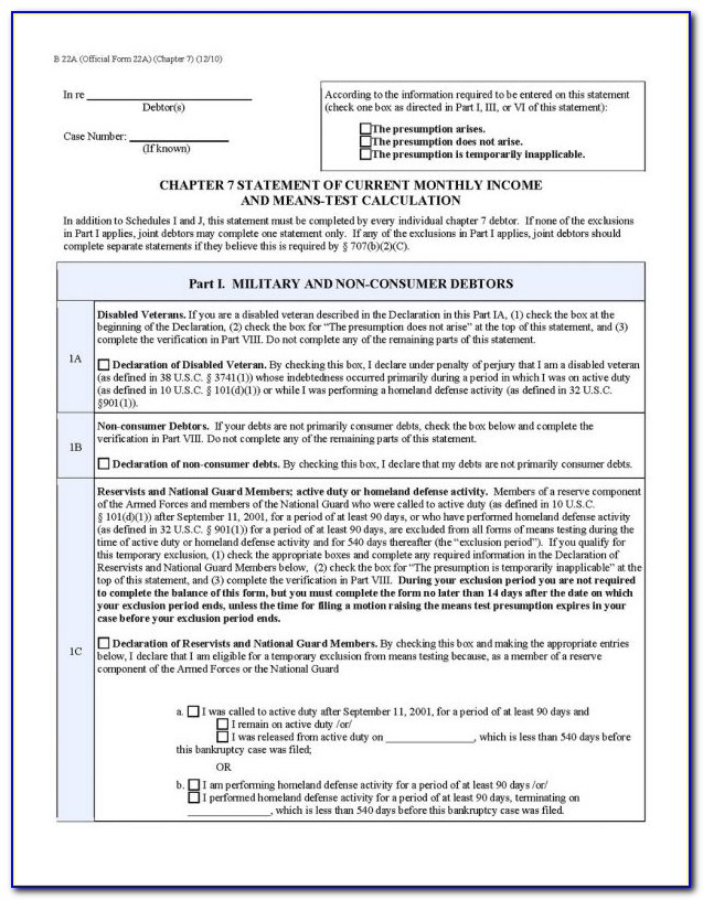 Nj Bankruptcy Chapter 13 Forms