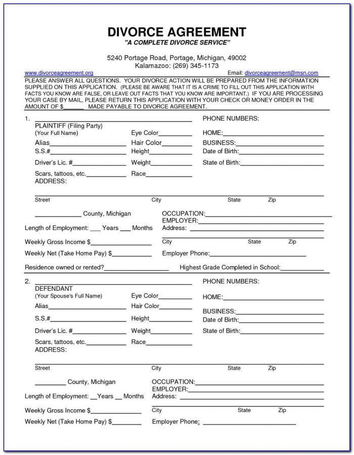 Nys Uncontested Divorce Forms
