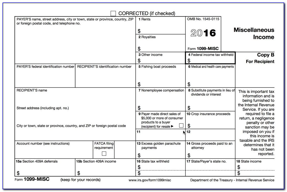 Process 1099 Misc Forms – Buildium Help Center Within Printable 1099 Tax Form