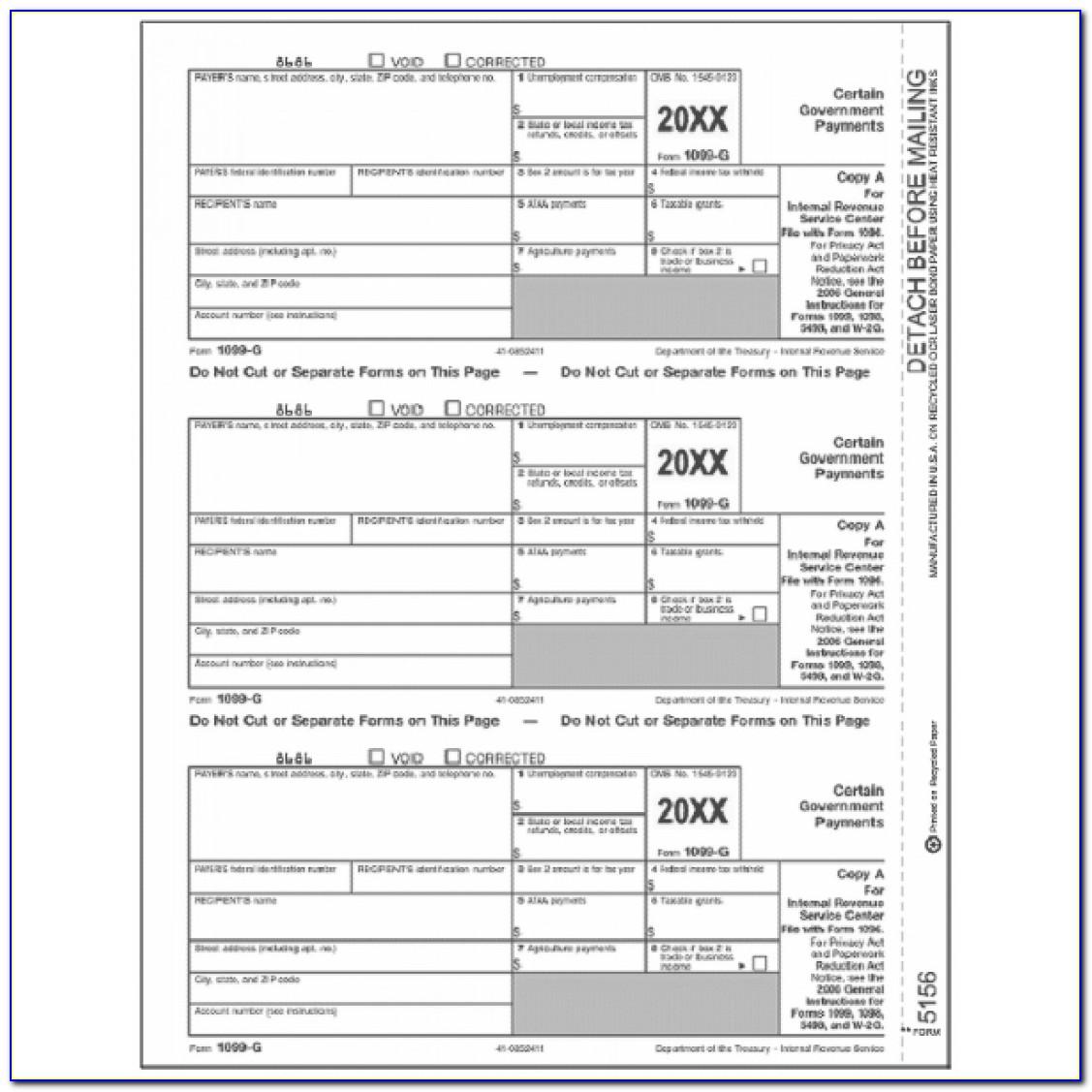 Printable 1099 Int Form 2017