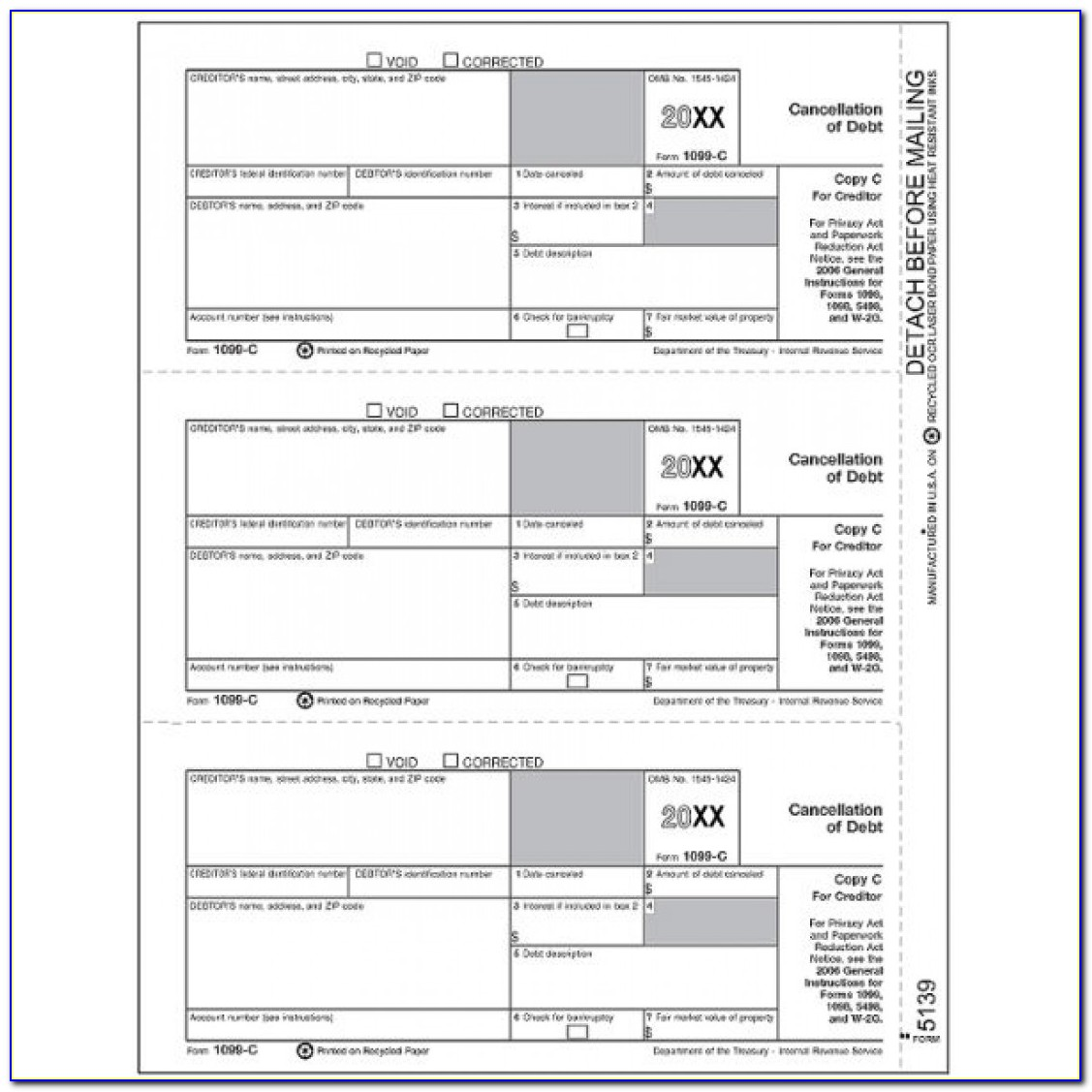 Printable 1099 Misc Form 2017