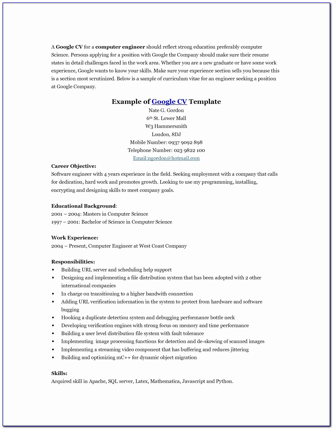 Google Docs Resume Template Free Awesome Free Resume Templates 24 Cover Letter Template For Google Docs