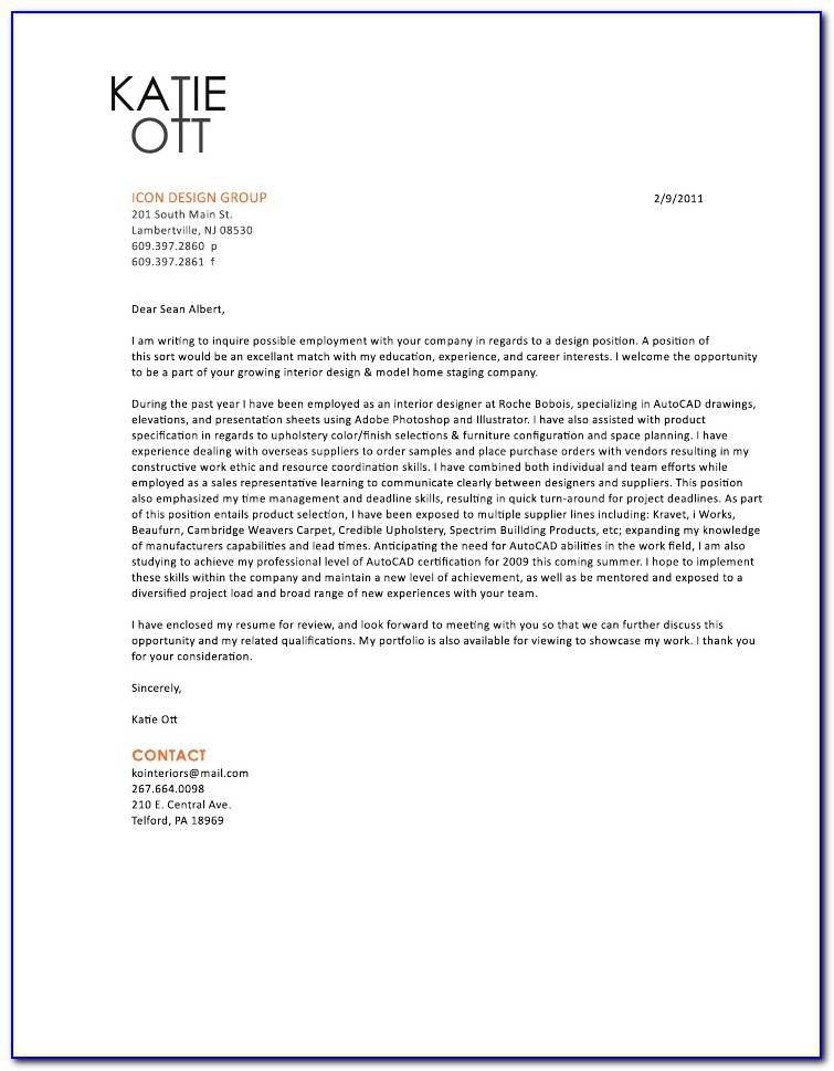 Resumes And Cover Letters Pdf