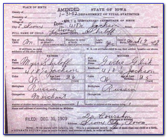 Birth Certificate Replacement Portland Oregon Beautiful Amended Birth Certificate Because Everyone Deserves To Have Their