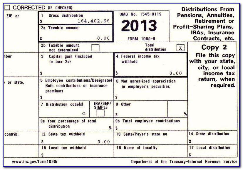 Tax Form 1099 Requirements