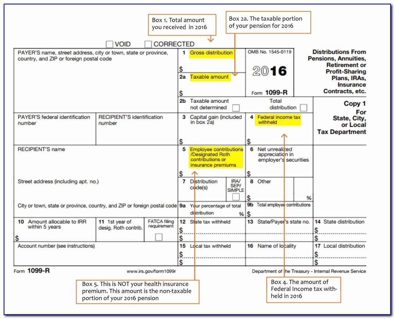 Tax Form 1099 Rules