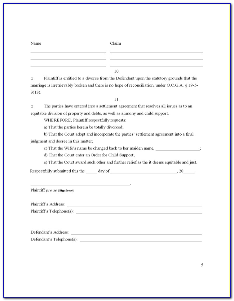 Uncontested Divorce Forms Rochester Ny