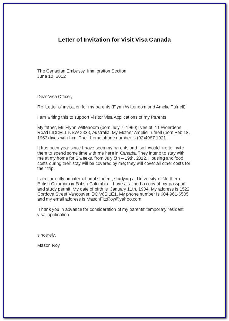 Invitation Letter For Uk Visa Family Importance Of Invitation Letter Of Invitation For Uk Visa Template