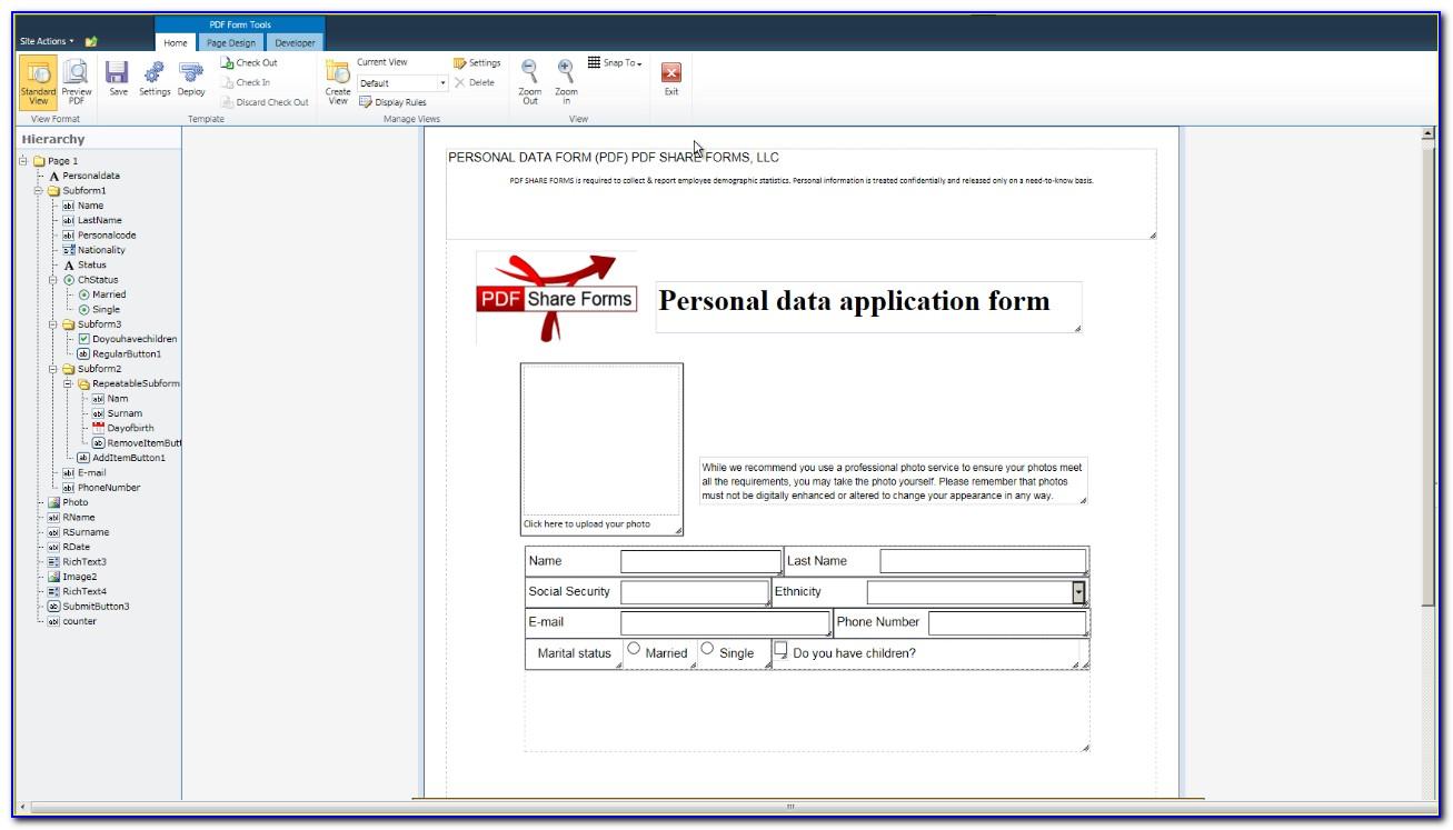 Adobe Pdf Forms Designer