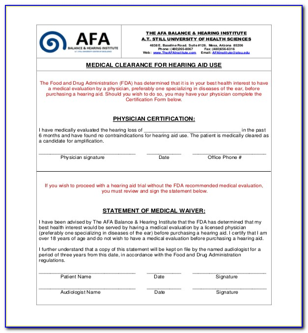 Adp Hearing Device Application Form