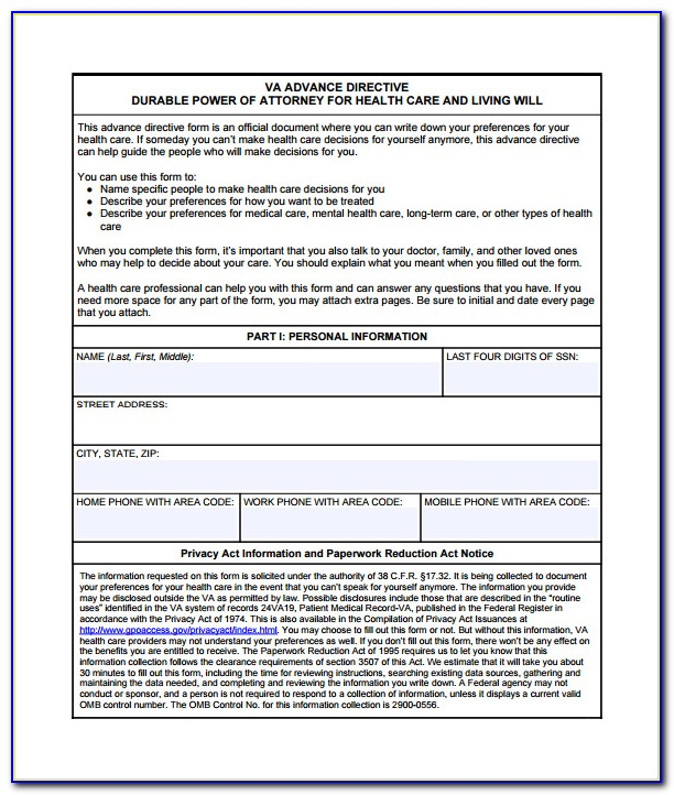 Advance Directives Forms Illinois