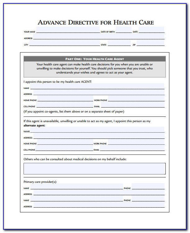 Advance Directives Forms Michigan