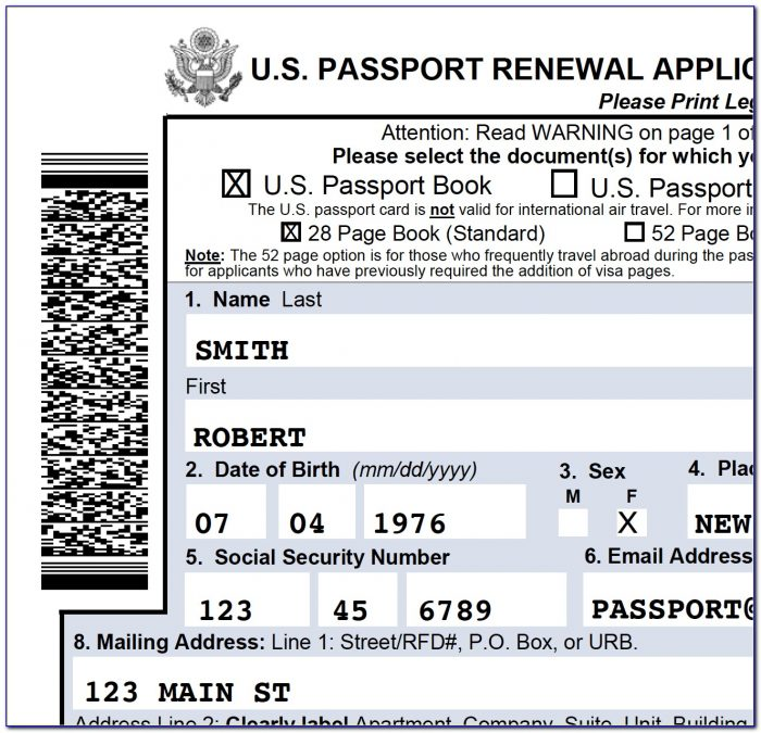 Application Form For Renewal Passport Philippines