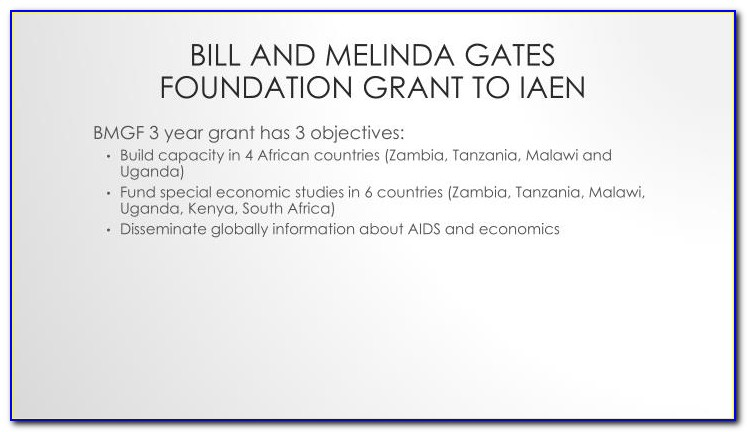 Bill And Melinda Gates Foundation Grants For Education